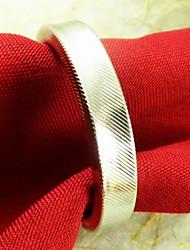 Beige Rond Ronds de serviettes
