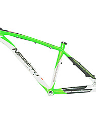 MB-NT02 MTB Bicycle Full Carbon Green+White Frame with NEASTY Decal