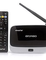 IdeaStar BX09 Quad-Core Android 4.2.2 ROM Bluetooth Google TV Player 2 Go de RAM 8GB