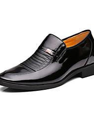 Zapatos de Hombre Boda/Exterior/Oficina y Trabajo/Casual/Fiesta y Noche Cuero Mocasines Negro
