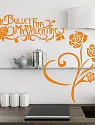 Rose Botânico e Valentine Wall Stickers