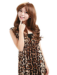 Synthetic Capless Long Side Bang Stylish Wig
