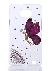 WWX Women's  Butterfly Purple Cell phone Case For Samsung9100 WWX0078