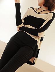 manga cloudripple suéter largo negro