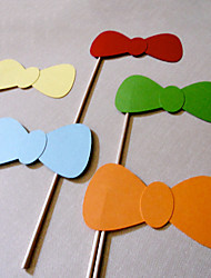 Bow Photo Booth Props for Wedding/Party (5 Pieces)