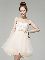 YHZ Women's Elegant Strapless  Dress L13791