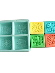 1 Eco-Friendly For Cookie / For Chocolate / For Cake Silicone Baking Mold