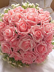 Casamento Forma 24 Chefes Round / Partido buquê de noiva (mais cores)