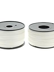 Reprapper 3D Printer Consumables White Color (Optional Wire Diameter and Material) 1 Piece