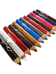 12PCS Mini Multi-couleur Eyeliner Pen Set Eye Shadow Pen Lip Liner