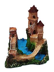 Resina pequenas torres do castelo para Formigas