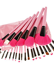 24 Makeup Brushes Set Synthetic Hair Face / Lip / Eye