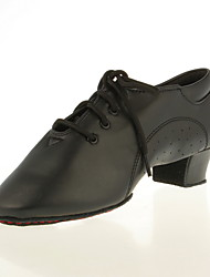Leatherette Upper Dance Shoes Ballroom Latin Shoes for Men and Kids