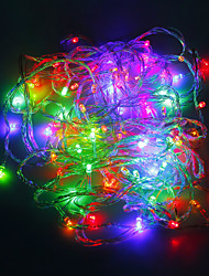 10 Light Multicolour LED String Light Christmas Decoration (10M,220V)