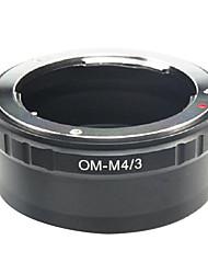EMOLUX Olympus OM объектив Микро 4/3 m4 / 3 Адаптер для E-P1 E-P2 E-P3 G1 GF1 GH1 G2 GF2 GH2 G3 GF3