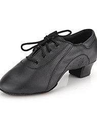 Real Leather Upper Dance Shoes Ballroom Latin Shoes for Men and Kids