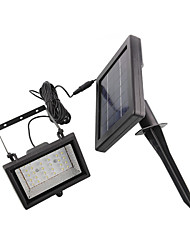 30-LED-Weißlicht-LED Solar Light Garden Flood Spot Light Rasen-Lampe
