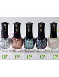 BK Красочные блестками Лак для ногтей № 16-20