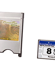 8G Ultra Digital CompactFlash Card with PCMCI Adapter