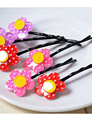 Girl's Flower Hair Clips