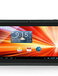 "7"" Android 4.4 WiFi Tablet(RAM 512MB,ROM 8GB,A33 Quad Core,Bluetooth,Dual Camera)"