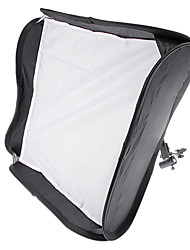 "FOTGA 24 ""portable 60cm Softbox Soft Box pour Flash Light Speedlite photo flash"