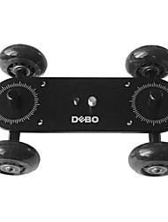 DEBO Azul desktop câmera dolly VI com 1/4, 3/8screw (Black)