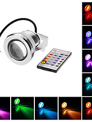 Focos LED Impermeable 10W 1 LED Integrado 500 LM RGB AC 12 V 1 pieza