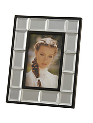 "9""Mosaic Style Rectangle Glass Picture Frame"