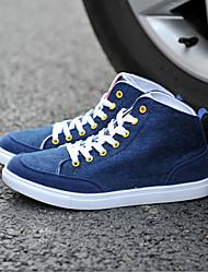 Casual Style Nacional Azul Oscuro zapatos de tendencia de los hombres Point