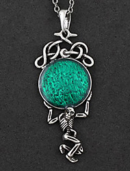 The Planet of Death Green Alloy Gothic Lolita Necklace