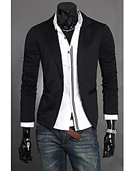 Men's Fashion Korean Version A Button Blazer Small Suit