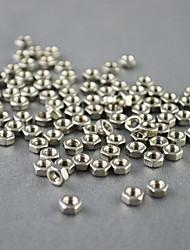 Нержавеющая сталь металлические части 3 мм гайка для муравьев (10 шт)