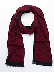 Quente Red algodão de seda do lenço do Unissex com design do estilo chinês