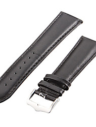 Unisex 24 millimetri Leather Watch Band (colori assortiti)