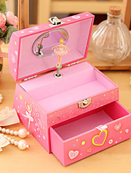 Pink Ballet City of Sky Music Box