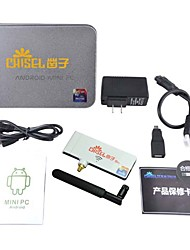 Chiseltek 5G Wi-Fi Android 4.2 TV Player Rockchip3188 1800Mhz Quad Core (Wi-Fi Bluetooth 2GB RAM 8GB ROM HDMI)