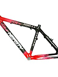 MB-NT102 MTB Bicycle Full Carbon Red+Black Frame with NEASTY Decal