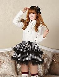 Women's Black Skirts , Cute/Party Mini