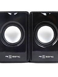 SENIC SN-418 Mini Speaker Portátil elegante para Laptops / PC (1 par)