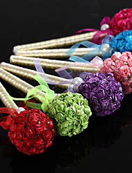 Gold Wedding Pen With Ball-flower (More Colors) Sign In Book Coral Wedding