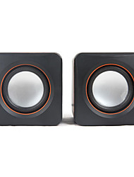 SENIC SN-430 Speaker Portátil Stereo Mini Para Laptops / PC (1 par)