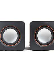 SENIC SN-430 Portable Mini Stereo Speaker For Laptops/PC  (1 Pair)