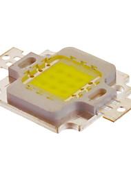 10W Intégrer 800-900LM 6000K lumière blanche fraîche Chip LED (10-12V)