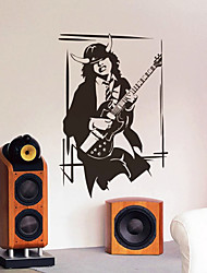 People Bassist Wall Stickers