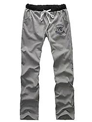 Abbigliamento Uomo Stampa casuali di sport Pantaloni Uomo Pantaloni Casual Sport
