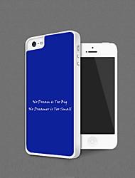 Personalizada Shell protección para el iPhone 5 (más colores)