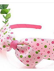 Girl's Dots Bow Headband