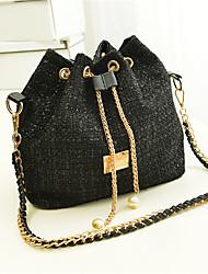 N-PAI Frauen Black Pearl Bucket Bag (34 * 14 * 25)