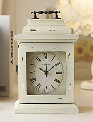 "12""H Retro Style Key Box Tabletop Clock"